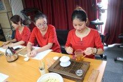 加盟商学员--茶艺学院学员练习课
