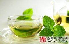 绿茶消除黑眼圈改善眼疲劳