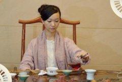专业茶叶店茶楼,茶艺师服饰选择