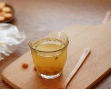 美容养颜一杯蜂蜜绿茶就好了